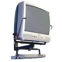 Suporte Tv Tubo 14 A 21 Polegadas + Dvd Indusat Preto