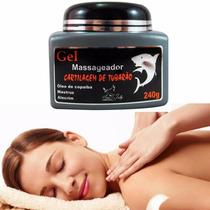 Gel Massageador Cartilagem De Tubarão Sanjully Cx 12uni 240g