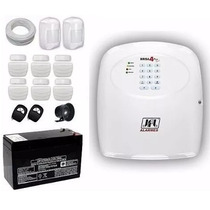 Kit Alarme Jfl Com 08 Sensores Arme E Desarme Por Celular