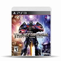 Transformers Rise Of The Dark Spark Para Ps3 ¡sólo En Gamers