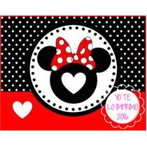 Kit Imprimible Candy Bar Minnie Mouse Golosinas Ytli2016