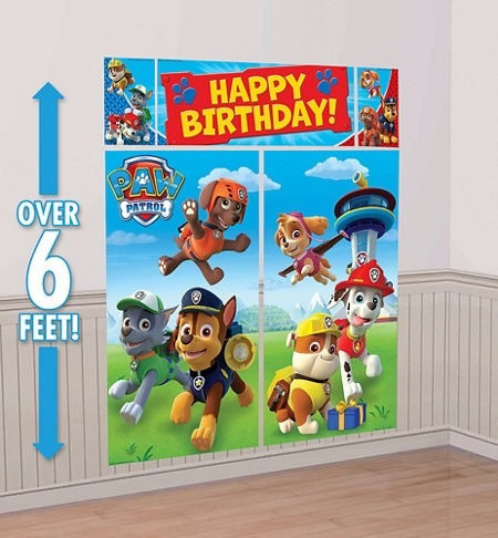 fiesta paw patrol patrulla de cachorros escenario. Black Bedroom Furniture Sets. Home Design Ideas