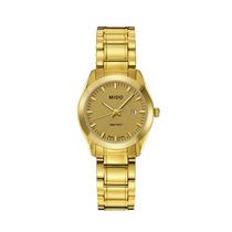 Reloj Mido M012.2103302100 Dama Dorado Original Envío Gratis