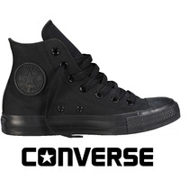 20%off Tênis Converse All-star Botinha Preto Rock Monochrome