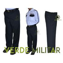 Pantalon Para Policia Vigilante Vigilancia Seguridad Privada