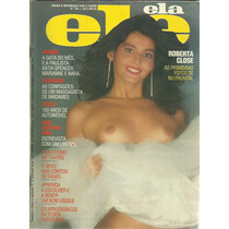 Revista Ele Ela Roberta Close N° 184