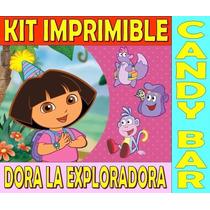 Kit Imprimible Dora La Exploradora Fiesta Cumpleaños