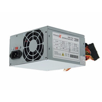 Fonte Power X Atx 230w Real 24 Pinos + Cabos + Embalagem