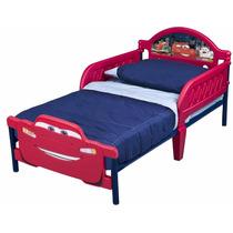 Cama Camita Infantil 3d Niño Disney Cars Rayo Mcqueen