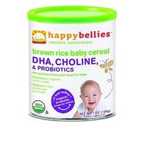 Feliz Cereal Vientres Orgánica Bebé Con Dha De Colina Y Prob