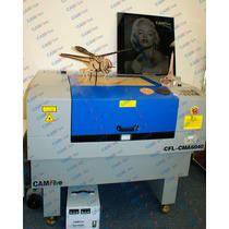Camfive Cortadora Grabadora Laser C02 Mdf Acrilico Tela Piel