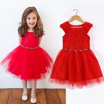 Vestido Turma Da Monica Renda Festa Infantil