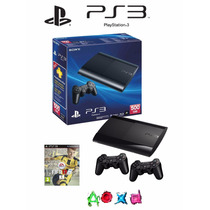 Consola Ps3 Ultra Slim 500 Gb Fifa 17 Fisico 100 % Nueva
