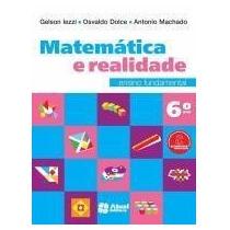 Matemática E Realidade - 6º Ano - 8ª Ed. 2013 - Sa