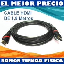 Cable Hdmi 1.8 Metros 1080p Full Hd 1.4 V Bluray Ps4 Ps3 Tv