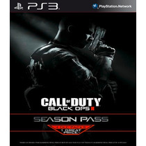 Cod Black Ops Ii 2 + Season Pass Ingles Ps3 Psnrasec