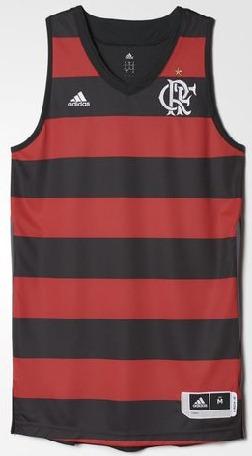 c206bb14b Camisa Flamengo Basquete adidas - R  99