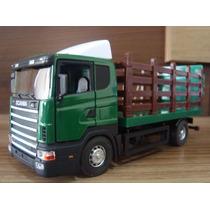 Miniatura 1/43 Caminhão Scania T 142 Boiadeiro