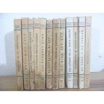 Biblioteca Del Estudiante Universitario. 1939-42. 12 Tomos.