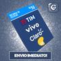 Recarga Celular Crédito Online Claro Vivo Oi R$ 50,00
