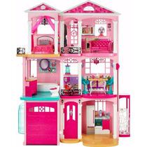 Casa Dos Sonhos Da Barbie Original Na Caixa Ref.:cjr47
