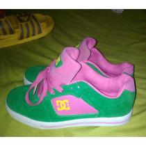 Zapatos Dc Shoes Skate Deporte Dama Mujer