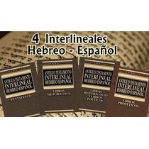 Cerni, R - Antiguo Testamento. Interlineal Hebreo-español