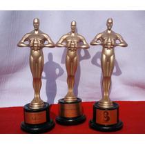 Estatuilla Premio Oscar Hollywood Personaliza 19cm