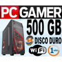 Cpu Gamers-targeta Grafica Geforce1gb Ddr3-500gb-4gb-wifi-