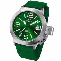 Tw Steel Canteen Fashion Verde 45mm Tw505 Diego Vez