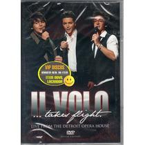 Dvd Il Volo Takes Flight Live Detroit Nacional Lacrado Raro