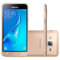 Smartphone Samsung Galaxy J3 2016 Dourado Com 2 Chips Tela 5