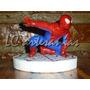 Hombre Araña En Porcelana Fria Centro De Torta