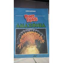 Álbum Figurinhas Ping Pong Amazônia Com 32 Figurinhas