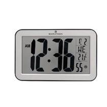 Maratón Cl030033-sv Atómica Panorámica Reloj De Pared Con Te
