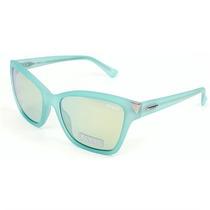 Óculos De Sol Guess Turquesa Fosco - Gu739785x
