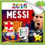 Kit Imprimible Barcelona Messi Diseño Tarjeta Cumpleaños Cd
