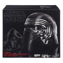 Star Wars Kylo Ren Casco Black Series Hasbro Nuevo