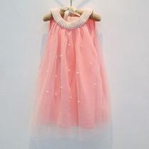 Vestido Infantil Roupa Festa Criança Menina Broche Renda