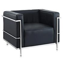 Poltrona Le Corbusier Lc3 - Preto