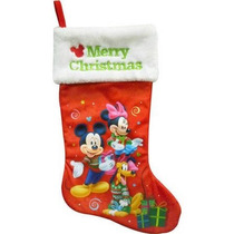 Disney Bota Navideña Mickey Mouse Minnie Mouse Nueva Disney
