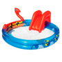 Pileta Inflable Tobogan Vikingos Bestway 203 X165x73 Pc