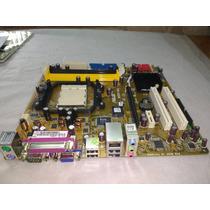 Placa Mãe Am2 Ddr2 Asus M2n-mx Pci-express