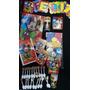 Set Piñata Infantil Mickey Vasos Bandejas Mantel Cubierto