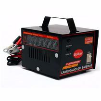 Carregador Baterias 12v Carro E Moto Automatico Inteligente