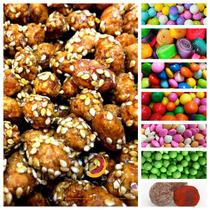 Paquete Caja Dulces Botanas Mesa De Dulces A Granel Snacks