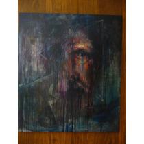 Pintura El Quijote Oleo Sobre Tela 80x70 Cm Luis Buendia