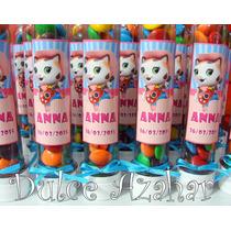 Golosinas Personalizadas, Tubos Para Candy Bar