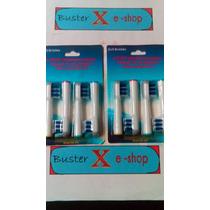 Kit Refil Oral B Braun Escova Dente Eletrica Trizone 8 Und