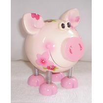Cofre Infantil Em Forma De Porquinho - Não Precisa Quebrar..